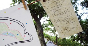 Island Art Encampment and Cartography Archive