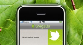 Twigster: find a tree, find a friend