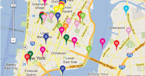 Awkward_NYC, a map of awkward social interactions in public spaces